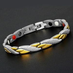Fashion Magnetic Therapy Single Row Bracelet